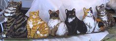 Mama Cat and 5 Kittens Door Draft Stop Pillow New US $14,99 - 633,67 руб.