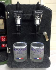 Jerry Can Mini Bar Jack Daniels Grey Goose Vodka Whiskey Camping Glamping Gift Jerry Can Mini Bar, Fuel Bar, Grey Goose Vodka, My Bar, Old Pallets, Camping Glamping, Novelty Items, Jack Daniels, Cool Gifts