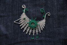 Lace Jewelry, Dream Catcher, Crochet Earrings, Bobbin Lace, Dreamcatchers, Dream Catchers