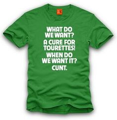 I died laughing when I read this shirt.