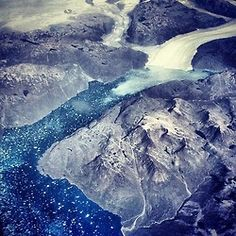darunovic:    Melting #glaciers on #greenland #ice #nature #hdr (Taken with Instagram)