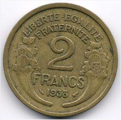 France 2 Francs 1938 Veiling in de Frankrijk,Europa (niet of voor €),Munten,Munten & Banknota's Categorie op eBid België