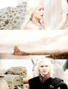 Daenerys + Viserys Targaryen | Game of Thrones