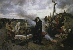 Francisco Pradilla Ortiz Dona Juana La Loca (Showing Juana the Mad holding vigil over the coffin of her late husband, Philip the Handsome)