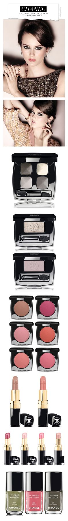 ~Chanel Fall 2013 Color Collection – Superstition | House of Beccaria#
