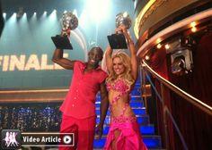 Donald Driver and Peta Murgatroyd - On Winning Dancing With The Stars
