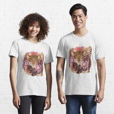 PAINTED LEOPARD 352. by sana90 | Redbubble Matthew Gray Gubler, T Shirt Rot, My T Shirt, American Gothic, Vogue Magazine, Tshirt Colors, Female Models, Chiffon Tops, Heather Grey