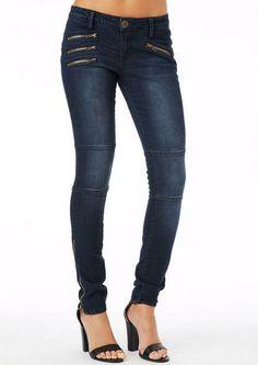 Spoon Zipper Skinny Jean #skinny #jean #zipper #spoon #alloy #alloyapparel http://www.alloyapparel.com/product/spoon+zipper+skinny+jean+175819.do?sortby=ourPicks