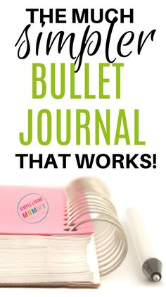 This planner technique is perfect for people who buy planners and never use them - this simple bullet journal will skyrocket your productivity without needing to make a creative bullet journal! Bullet Journal Banners, Bullet Journal Page, Bullet Journal For Beginners, Bullet Journal Hacks, Bullet Journal How To Start A, Bullet Journals, Making A Bullet Journal, How To Use Planner, Planner Tips