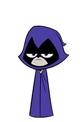 Raven will always be my favorite!!! #teentitansgo
