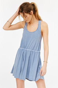 Kimchi Blue Side-Tie Pebbles Dress - Urban Outfitters