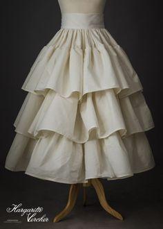 Blue Chiffon Ruffle Pleated Trim   Crafts//Costume//Victorian//Bridal//Corsetry