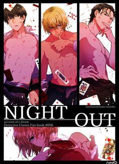 Anime Love, Anime Guys, Manga Anime, Conan, Canon Ship, Gosho Aoyama, Love Run, Magic Kaito, Manhwa