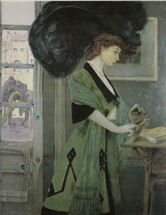 Judith by Gustav Adolf Mossa