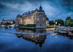 Most Beautiful Castles in Europe - Condé Nast Traveler Örebro Castle, Sweden Cool Countries, Countries Of The World, Beautiful Castles, Beautiful Places, The Places Youll Go, Places To See, Chateau Moyen Age, Sweden Travel, Travel Europe