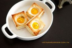 Grilled Sandwich with Egg Recipe (Bánh Mì Trứng Cút Nướng) from http://www.vietnamesefood.com.vn/vietnamese-recipes/vietnamese-sandwich-recipes/grilled-sandwich-with-egg-recipe-banh-mi-trung-cut-nuong.html