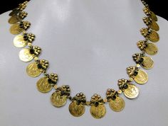 Vintage antique tribal old 22 K solid gold by TRIBALEXPORT on Etsy, $1659.00
