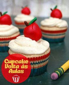 Cupcake de Volta às Aulas