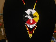medicine wheel necklace,native american necklace by deancouchie on Etsy