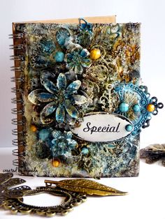 13 pasji by Ayeeda: Special notebook - video tutorial for 13 arts with Flying Unicorn adornments