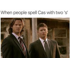 """My Netflix subtitles spells it with two....<<< that doesn't mean it's right though. It's """"Cas"""" not """"Cass."""""""