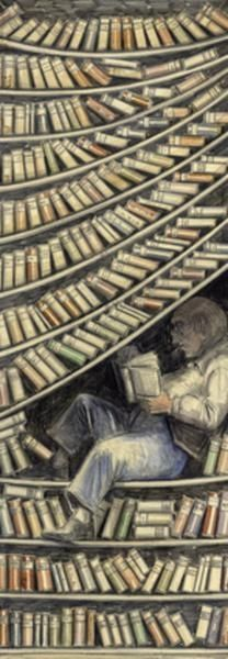 Barbie Librarian • bibliolectors: Among books: bookmarks / Entre...