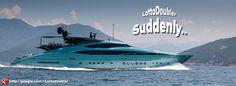 Suddenly.. Mega yacht   Lotto Doubler instant lottery