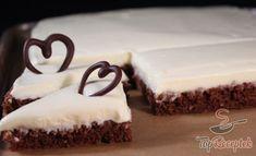 Ellenállhatatlan mákos szelet   TopReceptek.hu Good Food, Yummy Food, Sweet Cakes, Something Sweet, Tiramisu, Cheesecake, Butter, Sweets, Cream