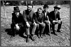 Levon Helm and The Band - Music from Big Pink (l to r: manuel, hudson, helm, robertson, danko)
