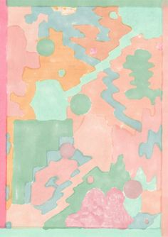 Layered pastels / Massimiliano Bomba Trending now // repinned by jillscheintal.com/ MRealty, Portland Oregon