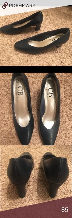 9dcd6696be2 CB Collection Black Closed toe Heels size 8 Used once Black heels Heel  height   inches Closed toe cb collection Shoes Heels