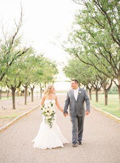An Elegant Vineyard Wedding at CapRock Winery in Lubbock, Texas