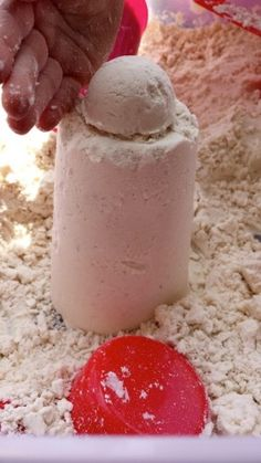 Home Made Moon Sand- Great Kids Activity