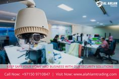 ALAHLAM TRADING is a leading security solution provider in middle east with high quality of security products. If you are looking for a security camera, CCTV camera system or a digital video recorder, then look no further! We are your Destination for all your video surveillance and security camera equipment. When you want to protect your home or business, one of the best way is using security cameras. Call Now: +97150 9710847 Visit Now: www.alahlamtrading.com