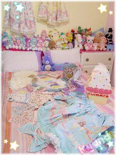 kawaii bedroom!