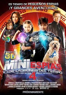 Mini espías 4: Los ladrones del tiempo - online 2011