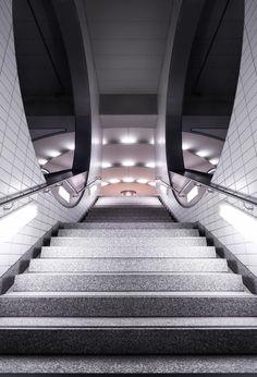 | STAIRS - escaleras |Subway II by Nick Frank, via Behance