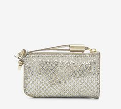 Jimmy Choo Silver And Gold Wallet