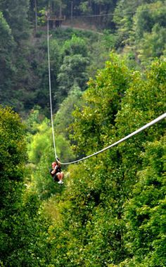 New River Gorge Gravity Zip Line! (I did this and it was really cool!)