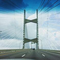 Suspenseful. #bridge #jacksonville