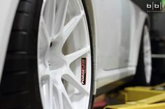 Our friends at BBi Autosport are close to finishing up their Project Swan Porsche 997.1 Turbo BBi Street Cup GT2 conversion on one piece forged monoblock Forgeline GA1R Open Lug wheels in Super Wet White. This car looks amazing on the lift, so we can't wait to see it on the ground!  ‪#‎Forgeline‬ ‪#‎forged‬ ‪#‎monoblock‬ ‪#‎GA1R‬ ‪#‎openlug‬ ‪#‎notjustanotherprettywheel‬ ‪#‎madeinUSA‬ ‪#‎Porsche‬ ‪#‎GT2‬