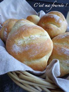 Petits pains moelleux au Fjord (perle de lait) C'est ma fournée