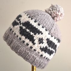 Ravelry: Salish Toque pattern by Art of Yarn Designs
