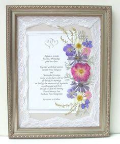 Pressed Flower Invitation Wedding Invitations Pinterest Dried