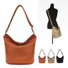 Women Shoulder Bag Tote Messenger Crossbody Faux Leather Purse Handbags