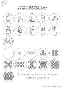 Numeros y botones aprende a contar Nursery Worksheets, Math Worksheets, Preschool Activities, Camo Birthday, Math Pages, Vibrant Hair Colors, Christian School, School Pictures, Alphabet And Numbers
