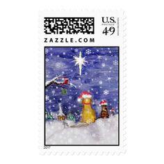 Animal's Christmas Postage