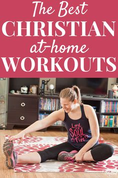Looking for an encouraging way to combine your faith with fitness? Check out the best at-home Christian workouts, from free workouts to subscriptions. Kickboxing Workout, Workout Dvds, Workout Videos, Weight Loss Motivation, Fitness Motivation, Exercise Motivation, Revelation Wellness, At Home Workouts, Studio Workouts