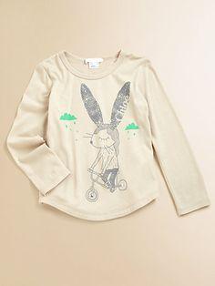 Chloé - Toddler's & Little Girl's Rabbit-Print Tee - Saks.com