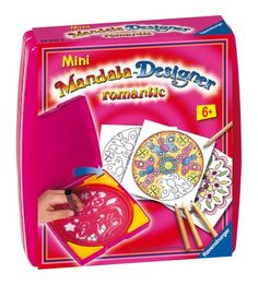 "Ravensburger 29947 8 ""Romantic"" Mini Mandala Designer Craft Kit"